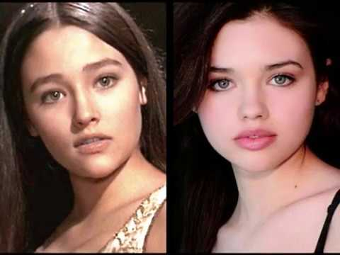 India Eisley and Olivia Hussey  daughter and mother
