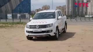 Тест - Драйв Volkswagen Amarok(Сегодня у нас на тесте Volkswagen Amarok. Первый пикап от Volkswagen вышел в 2010 году и получился весьма удачным. Вместител..., 2016-07-26T13:47:08.000Z)
