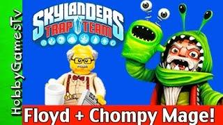 SKYLANDERS Trap Team with LEGO Floyd, Video Game Gameplay! HobbyGamesTV