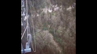 Муж Оксаны Фдоровой прыгнул самой высокой тарзанки