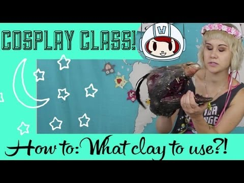 Sculpting Clay for Beginners: What Clay Do I Use for Cosplay? - Cosplay Class with Commander Holly