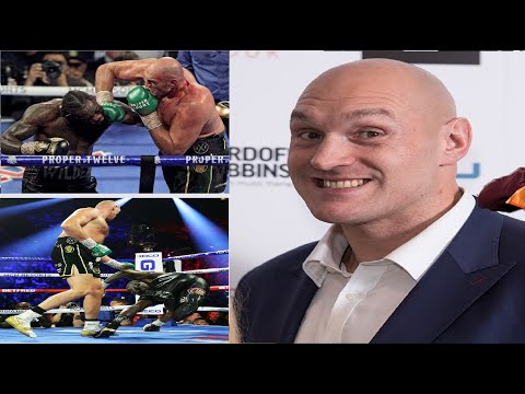 """tyson-fury-""""deontay-wilder-only-taking-3rd-fight-for-the-money""""!!"""