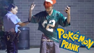 Pokemon Prank On Cop!