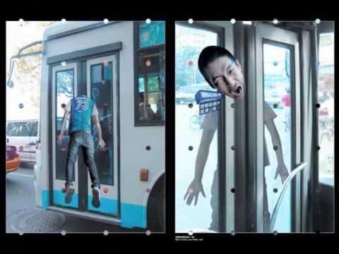 Great Creative Bus Advertising