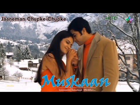 Download Jaaneman Chupke Chupke    MUSKAAN    Aftab Shivdasani,Gracy Singh&Anjala Zaveri    Full Video Song