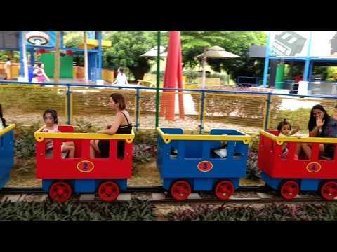 Legoland Malaysia kids train
