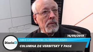 EL DESTAPE - Horacio Verbitsky - Están buscando que Alberto y Cristina se peleen - 16 09 19