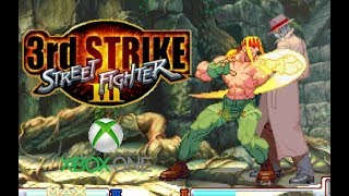 Street Fighter III 3rd Strike playthrough (Xbox One)