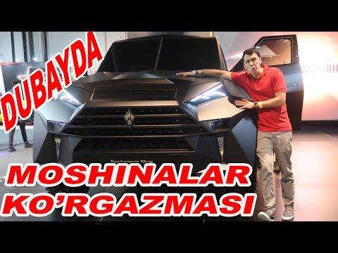 DUBAYDA MOSHINALAR KO'RGAZMASI (15-VLOG)