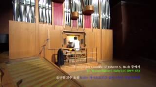 10 An Wasserflüssen Babylon BWV 653
