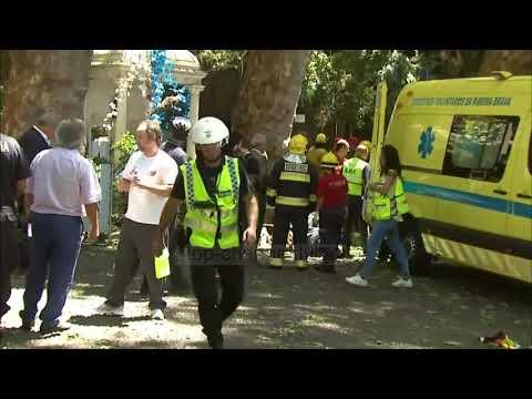 Portugali, pema vret 11 besimtarë në Madeira - Top Channel Albania - News - Lajme