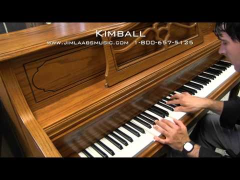 Kimball Upright Console Piano