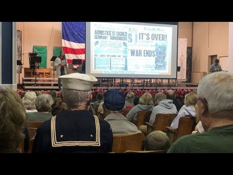 Veterans Day Celebration at Johns Hill Magnet School
