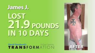 David Sandoval's 10-Day Transformation: Before & After Photo Loop