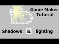 2D shadows and lighting - Game Maker tut