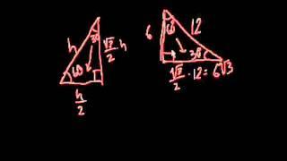 Треугольники с углами 30-60-90. Часть 2