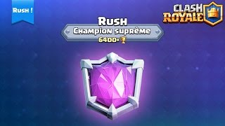 CLASH ROYALE JE MET LA LIGUE EN DANGER