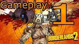 Borderlands 2 - Gameplay 1 Ita - La mia Prima Arma (PS4)