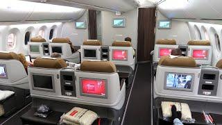 Kenya Airways B787 Dreamliner Business Class from Amsterdam to Nairobi: flying the Pride of Africa!
