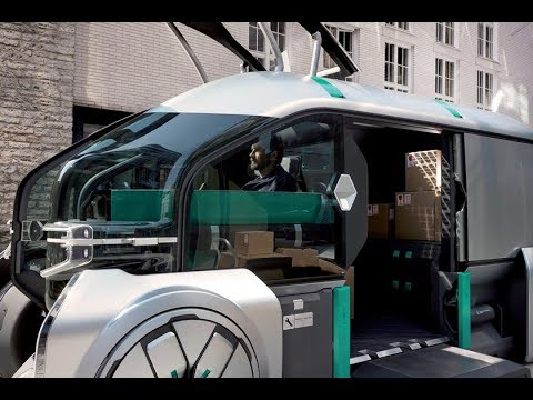 Renault EZ-PRO: Urban delivery goes robo