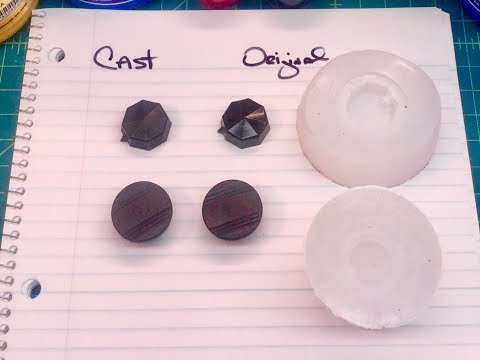 How To Mold & Cast Vintage Radio Knobs