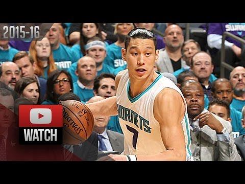 Jeremy Lin Full Highlights vs Heat 2016 Playoffs R1G4 - 21 Pts, SICK!