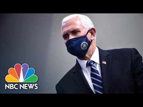 Mike Pence Publicly Receives Covid Vaccine I NBC News