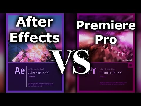 Adobe After Effects vs Adobe Premiere Pro