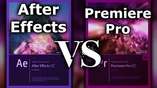 Adobe After Effects-Adobe Premiere Pro vs