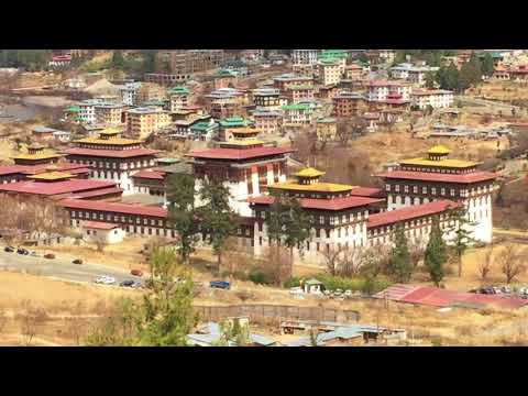 Bhutan King's Palace & Administrative Office
