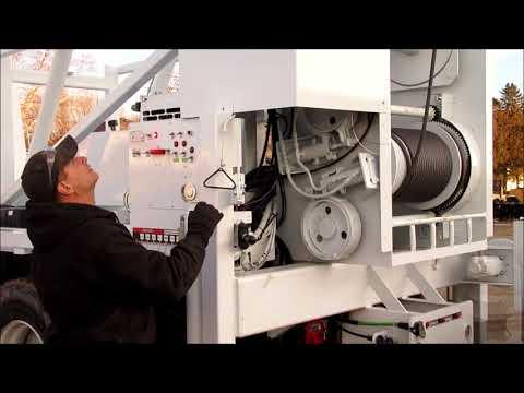 Hunke 12T Pump Hoist Operation