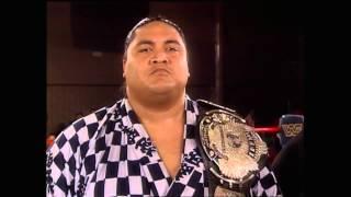 Yokozuna (Heavyweight Champion) Promotion and Interview before Bodyslam Challenge HD - Jun. 1993