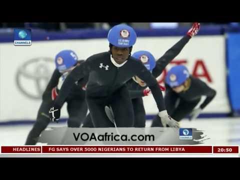 US Olympic Speedskater, Maame Biney Makes Wave |Africa 54|