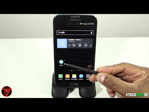 Samsung Galaxy Note 3 Music Player