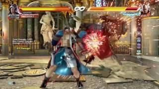 Tekken 7 Steve Fox Juggles