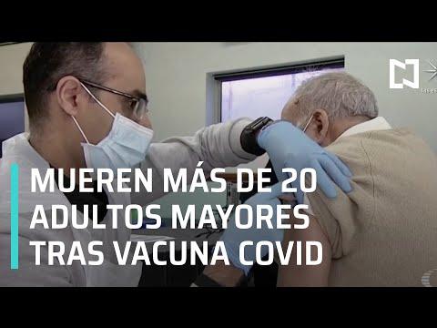 Adultos mayores mueren tras ser vacunados contra la COVID-19, médicos investigan - Al Aire