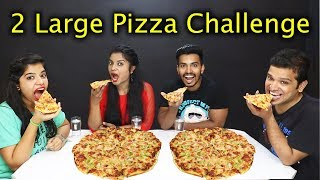 Скачать 2 LARGE PIZZA EATING CHALLENGE Pizza Eating Competition India 2 ल र ज प ज ज ईट ग च ल ज
