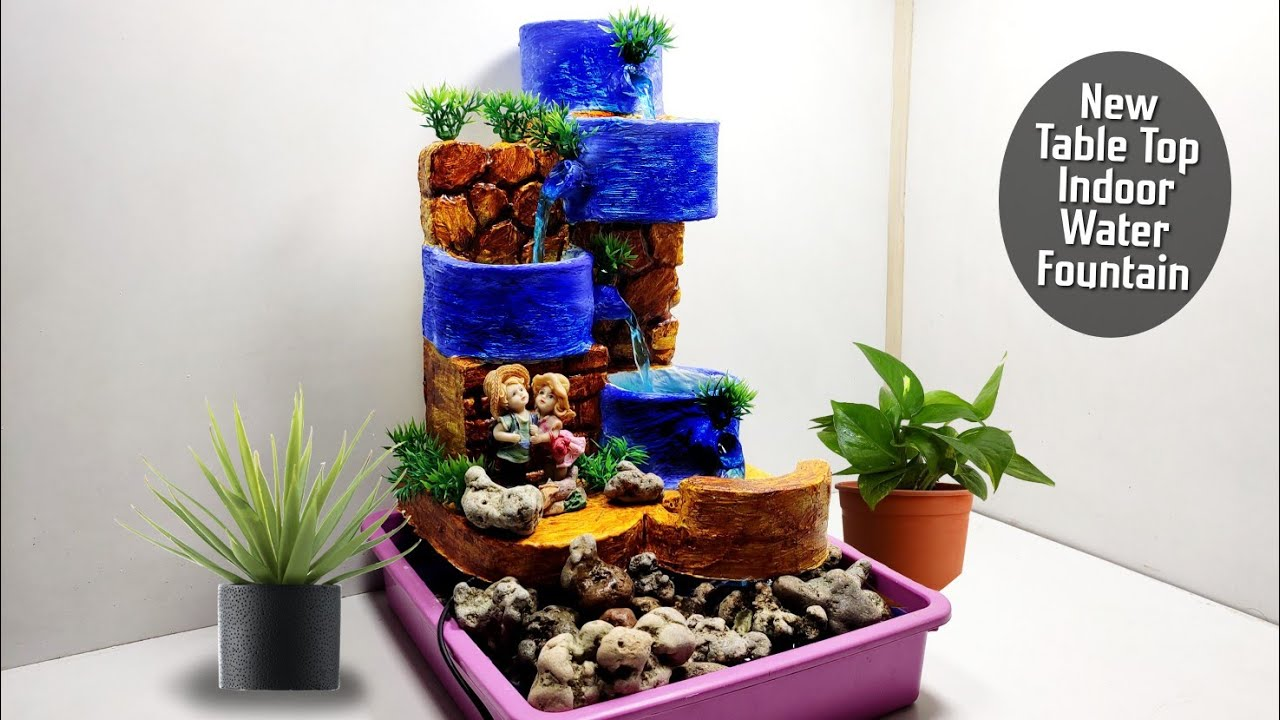 Diy Amazing Indoor Tabletop Waterfall
