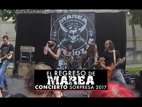 El regreso de Marea: concierto sorpresa 2017