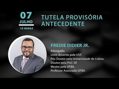 PALESTRA ESMEG - TUTELA PROVISÓRIA ANTECEDENTE, com Fredie Didier Jr.