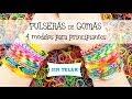 Pulsera de gomitas fácil: 4 modelos fáciles para principiantes