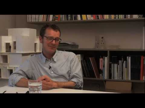 Stephen Bates on Education, Research and Practice in Architecture