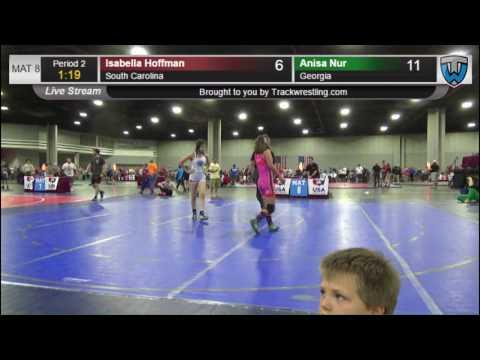 45 Girls FS N Isabella Hoffman South Carolina vs Anisa Nur Georgia 3614880104