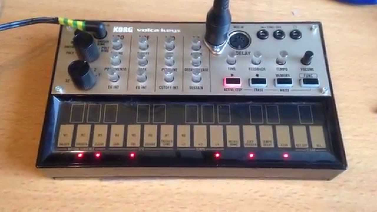 Volca Keys with MIDI OUT mod - step by step instructions
