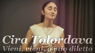 """Cira Tolordava sings """"Vieni, vieni, o mio diletto"""" by Vivaldi (2015)"""