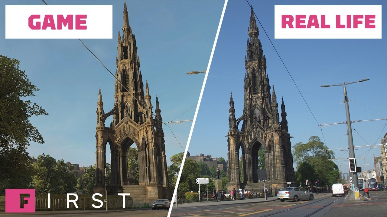 Forza Horizon 4 - Real life versus in-game locations video