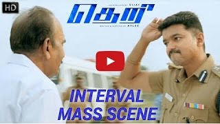Theri Interval Mass Scene HD   Vijay, Samantha, Amy Jackson   Atlee   G  HIGH