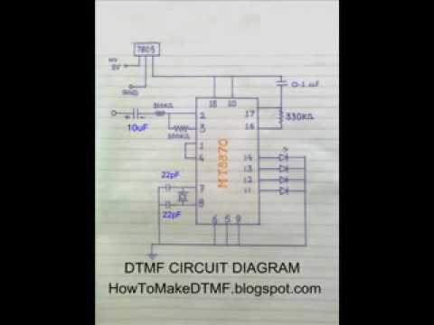 How to make a DTMF circuit