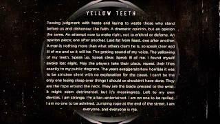 Protest The Hero - Yellow Teeth (Instrumental Piano Version)