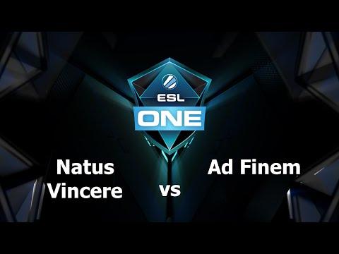 Na'Vi vs AF Game 3 - ESL One Manila EU - @TobiWanDOTA @RyuUboruZDotA